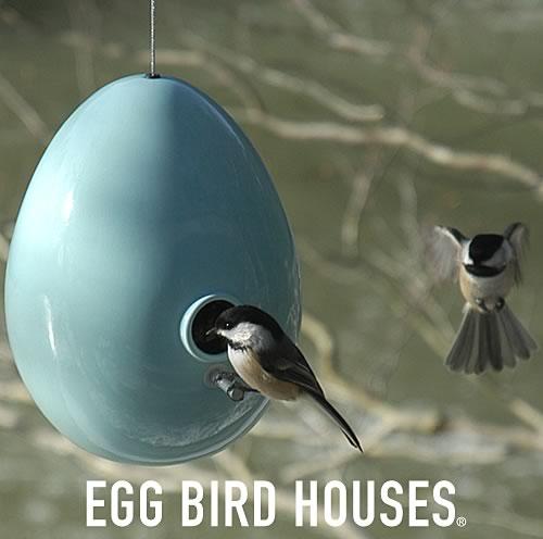 J Schatz New Egg Bird Houses
