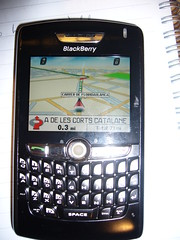 Blackberry 880 GPS phone