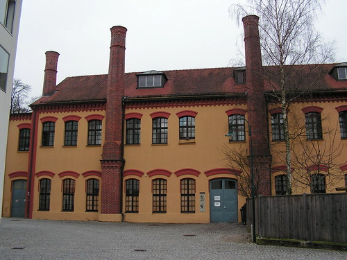 The building of ex-Mannlicher factory