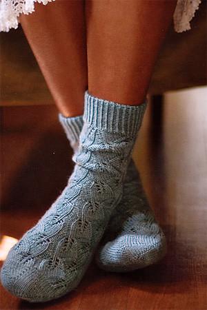 embossed socks