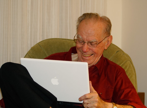 laptop grandfather