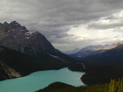 P1010014 (hmblight) Tags: lake dramaticsky icefieldsparkway canadianrockies