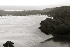 Sky, Sea, Sand, Lake (tarotastic) Tags: fraserisland queenslandaustralia