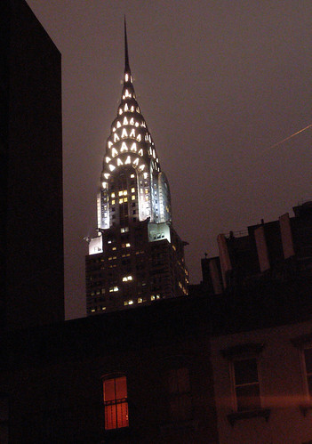 Chrysler Bldg. & Someone's Window