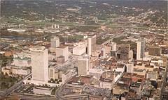 Nashville skyline 1979 (SeeMidTN.com (aka Brent)) Tags: skyline downtown nashville 1979 nashvilletn nashvilletennessee