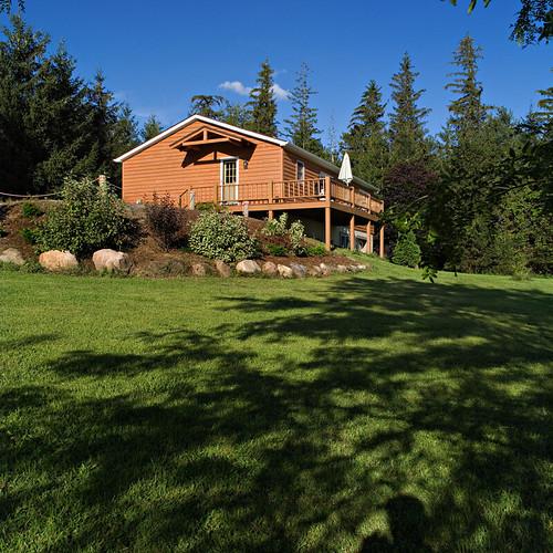 Cedar Cottage Sideview