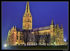 Salisbury Cathedral (reloaded) - by Hari_Menon