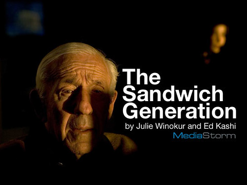 Taking Care of an Aging Parent The Sandwich Generation