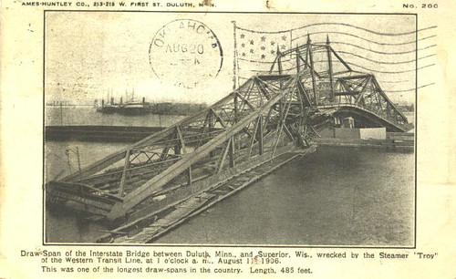 Minnesota - Bridge Wrecked 1906