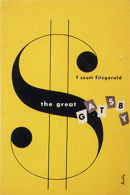 Alvin Lustig, The Great Gatsby, cover, 1945