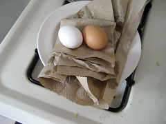 eggs hiding bacon