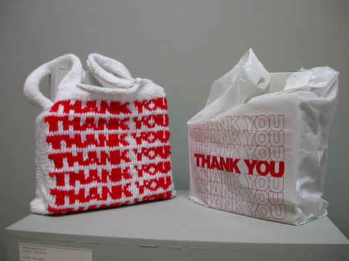 Aryon Hostleton and Alison Macrina's shopping bag