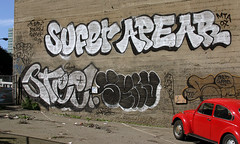 Sufer, Apear, Steel, Seny (funkandjazz) Tags: sanfrancisco california ca graffiti steel mta msk sufer aker apear seny