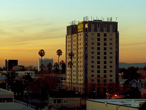 Sunset Downtown San Jose