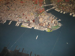 Lower Manhattan (Evan Rose) Tags: nyc architecture cityscapes queensmuseum newyorkpanorama
