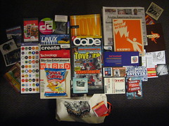 SXSW goodie bag