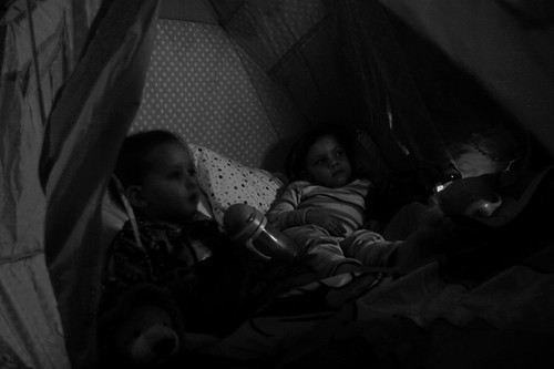 movie in the tent