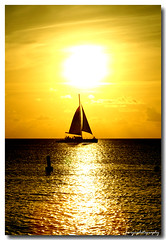 Golden Globe Sunset (Fevi in Pictures) Tags: sunset beach girl islands bravo shots grand seven caribbean cayman mile governors outstanding outstandingshots