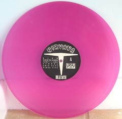 "Nirvana ""Bleach"" Pink Vinyl (Experiment 33) Tags: pink color nirvana grunge vinyl bleach indie record colored indierock coloredvinyl"