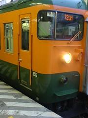 上越線高崎発水上行き普通電車