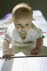 Communication (rayz1) Tags: portrait copyright baby canon ray computers it front communication edgar 1ds rayz1