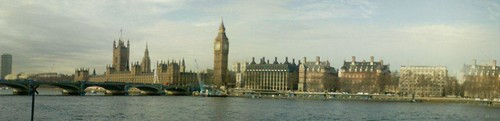 The Embankment & Paliament, London