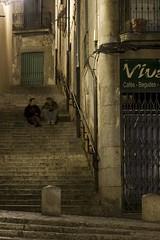 Sota la farola [orig] (jordics) Tags: people night catalonia girona catalunya catalua gerona jordics