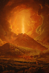 View Joseph Wright of Derby - Vesuvius from Portici - Detail on Flickr