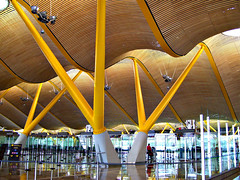Madrid Airport! (judo_dad1953) Tags: madrid architecture airport spain explore barajas instantfave abigfave