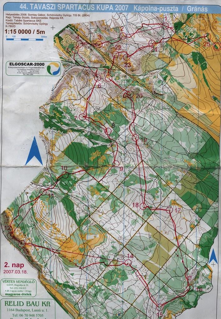 Kápolna Puszta - Térkép