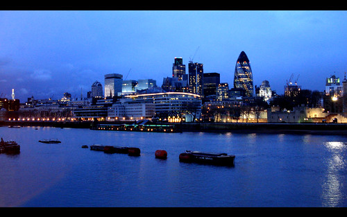 THAMES AT NIGHT WALLPAPER 1920 x 1200