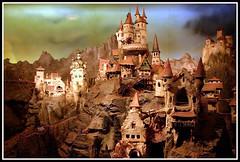 Models of the Diorama (Jukkie) Tags: sculpture detail castles scale models trains nostalgia nostalgic awards efteling turrets diorama antonpieck mywinners flick