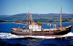 Sein Netter in the Minches (f0rbe5) Tags: uk blue sea scotland boat fishing marine europe machine 100v10f 1960s outer buchan fishingboat balmoral inverness mainland hebrides outerhebrides minches deepbluesea scenicwater theminches seinnetter seinnets