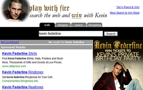 Kevin Federline Search Engine