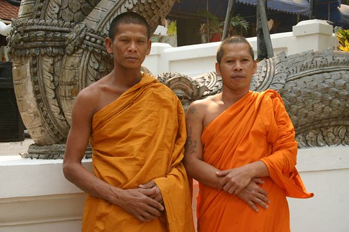 Monks with tattoos