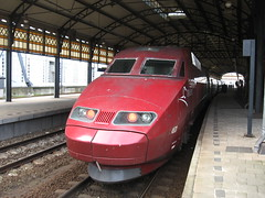 Thalys high speed train (giedje2200loc) Tags: railroad speed train high metro ns tram rail trains international railways railfan sncf treinen spoorweg thalys railfanning railvehicles beneluxtrein