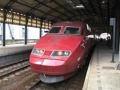 Thalys high speed train (giedje2200loc) Tags: railroad speed train high metro ns tram rail trains international railways railfan sncf treinen spoorweg thalys railfanning railvehicles beneluxtrein