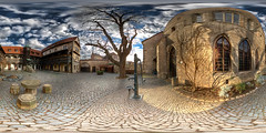 Augustinerkloster - Renaisancehof (refocus) Tags: panorama thringen erfurt hdr vr kloster equirectangular tonemapping