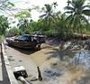 Beached Boat (JanneM) Tags: panorama river ship jan vietnam riverbed beached mekong morén moren janmoren janmorén