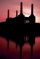 Save Battersea Power Station (naughton321) Tags: sunset red urban reflection water thames architecture buildings rouge industrial power deep landmarks pinkfloyd battersea riverthames powerstation chimneys wandsworth batterseapowerstation gilesgilbertscott famouslandmark pinkfloydanimals famouslandmarks sirgilesgilbertscott