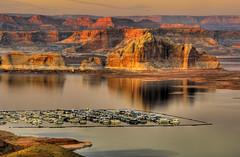 Wahweap Calm (James Neeley) Tags: sunset bravo hdr pagearizona blueribbonwinner photomatix lakepowel 5xp outstandingshots specland abigfave colorphotoaward superbmasterpiece jamesneeley
