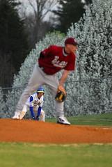 BH at WC Baseball-232b (SharpWits) Tags: sports ball spring baseball diamond highschool flowering pitch runner pitcher gamewell firstbase