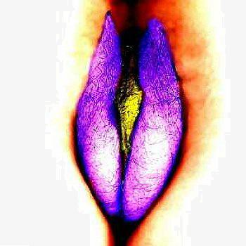 Purple vulva