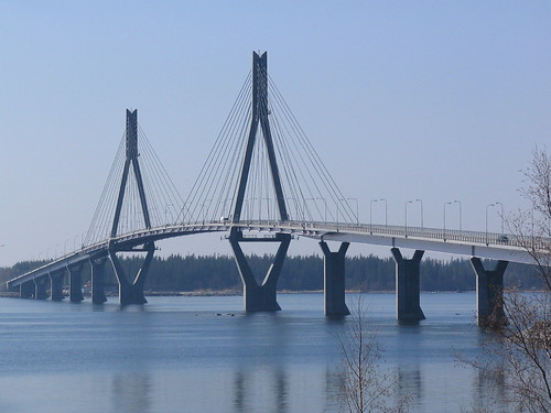 The longest bridge in Finland