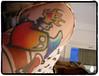 felt-tip pen tatoo: new skull @ são paulo,