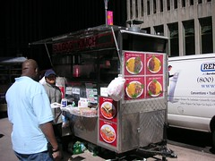 """bulgogi Kimchi street cart"" ""49th and 6th ave"""