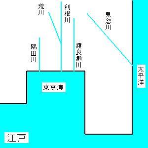 これなら分かる利根川東遷事業の使用前・使用後 - 日々の雑感(tach ...