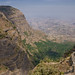 Simien national park  cliffs
