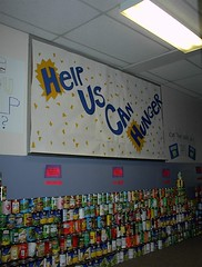 DSC00004 (FascinatedWithJesus) Tags: food drive canned baptist troutman 02232001