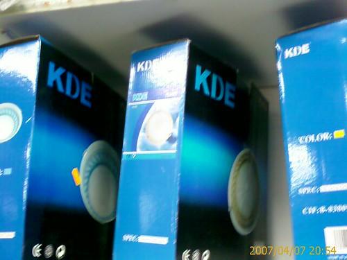 Lamparas KDE